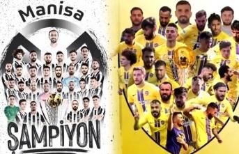 Manisa FK ve Eyüpspor, 1. Lig'de yükseldi