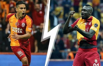 Galatasaray'da Falcao ve Diagne hareketliliği