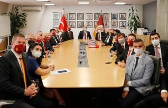 Galatasaray Sportif AŞ'de görev değişimi...