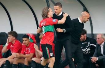 Ali Akman, Avrupa'daki ilk maçında gol attı,...