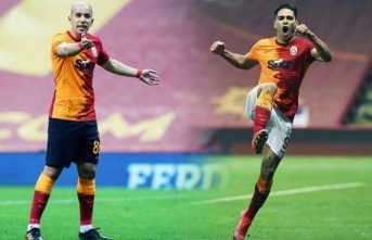 Galatasaray'da Falcao ve Feghouli için fesih...