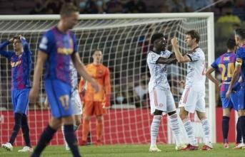 Bayern Münih, Barcelona'yı rahat geçti!