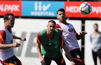 Galatasaray'da özel 'duran top' hazırlığı