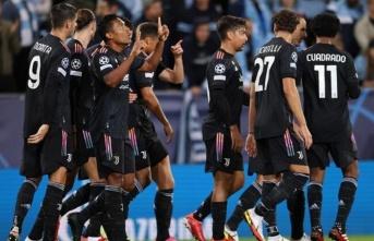 Juventus Malmö'nün fişini ilk yarıda çekti