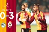 Konyaspor 0-3 Galatasaray