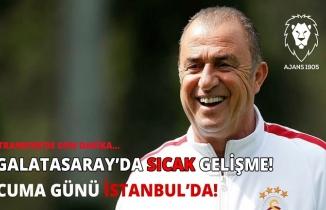 Galatasaray'da sıcak gelişme! Cuma günü İstanbul'da!